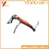 Marchio di legno di Customed apri di bottiglia della maniglia (YB-HR-12)