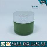 100ml leeren Zylinder-Kosmetik-Gesichtsschablonen-Glas-Glas