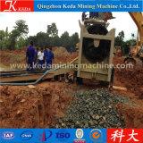 Pantalla aluvial de la criba del oro del equipo de la minería aurífera capacidad de 150 t/h