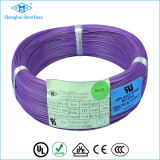 Cable de alambre interior de níquel aislado de alta temperatura de teflón rojo