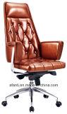 현대 회전대 나무로 되는 가죽 행정실 업무 매니저 의자 (RFT-A2014-1)