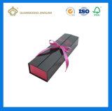 Rectángulo de empaquetado de empaquetado del pelo del rectángulo de la peluca de encargo (con el Closing de la cinta)