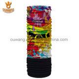 La bufanda polar colorida del paño grueso y suave modificó el Bandana para requisitos particulares impreso