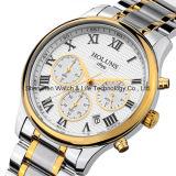 ステンレス鋼のスポーツの実業家の腕時計