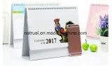 2018 calendarios de escritorio creativos coloridos de la nueva del diseño de la alta calidad impresión de Customed