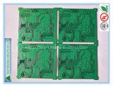 4 capas del Mitad-Orificio de la tarjeta de circuitos con HASL + sin plomo