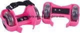 Ce Aprobación de dos ruedas ajustables Flashing Roller zapatos para Skate