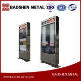 中国の製造者のステンレス鋼のシート・メタルの製造からのバス待合所ボックスDirectely