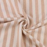 Tissu de tricotage organique diplômée de textile de coton