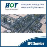 Gouden Koolstof in de Installatie (CIL) van de Uitloging