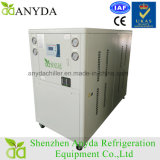 Refrigerador refrigerando direto para o chapeamento alcalino do zinco