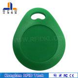 Soem-wasserdichte ABS MIFARE intelligente RFID Karte für Schlüsselkette