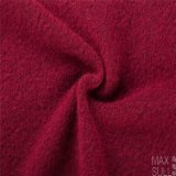 赤の冬の間編まれるのYarkの毛およびウールファブリック