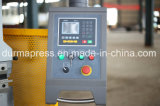 Máquina de dobra hidráulica de Wc67y 80t4000 para a Senhora e a placa dos Ss