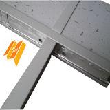 Falso techo de diseño del fabricante tableros de fibra mineral (estenopeica tegulares)