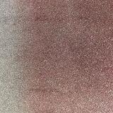 Couro quente do plutônio do Glitter da venda para as sapatas (E6071)