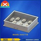 Dissipatore di calore di profili di raffreddamento ad acqua per il piatto elettronico