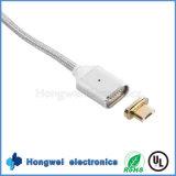 Cable magnético de la carga y de datos del USB del micr3ofono