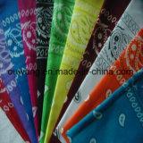 安い卸し売り昇進の習慣によって印刷される綿のバンダナ