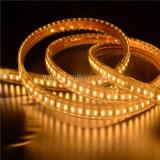 Wasserdichtes 110-220V passte der 3014 LED-Streifen-Licht für Dekorationlicht an