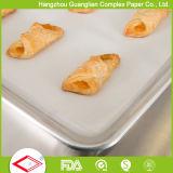 406X610mm Papel revestido de silicone revestido de graxa com sabor a alimentos para assar