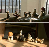 판매 수지 마우스 소형 훈장 장신구가 귀여운 마우스 땅콩 선물에 의하여 집으로 돌아온다