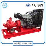 große Fluss-Dieselmotor-aufgeteilte Kasten-Wasser-Pumpe der Energien-588kw