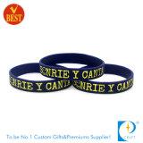 Wristband su ordinazione del silicone di modo di Debossed per il regalo promozionale