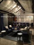 ヨーロッパ式の水晶ペントハウスの平たい箱の装飾LEDの木のクエーサーのシャンデリア