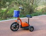 колесо электрическое Trike трицикла 3 батареи лития 250W электрическое