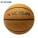 Баскетбол промотирования дешевого цены гибридный кожаный
