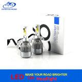 Farol H4 do diodo emissor de luz da ESPIGA do jogo da conversão do farol do carro do diodo emissor de luz da microplaqueta 7200lm Hb2 9003 da ESPIGA auto
