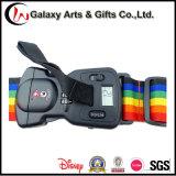 Bagagem durável Sacle de Digitas que pesa a cinta ajustável da bagagem de Tsa do poliéster do arco-íris