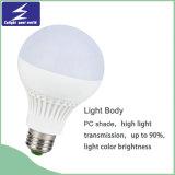 Lámpara plástica del bulbo de E27/B22/E14 5/7/9/12W