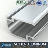 Perfil de alumínio de Iraque para a cor personalizada porta do indicador
