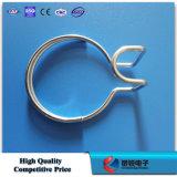 Anillo de cable de suspensión de acero galvanizado caliente DIP / Accesorios FTTH