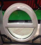 Окно отверстия UPVC круглой/овальной формы половинное