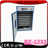 Estar na incubadora solar pequena conservada em estoque de 1232 ovos para a máquina de Hathery das aves domésticas