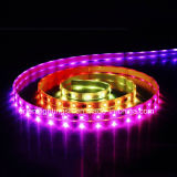 Tira flexible inteligente el 14.4W/M artificial de SMD5060 los 60LEDs/M LED