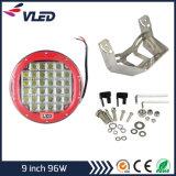 ¡Nuevo estupendo! ¡! productos de la luz de conducción de 9inch 96W LED los mejores para las piezas de automóvil LED redondo de la importación trabajan la luz, conducción del LED