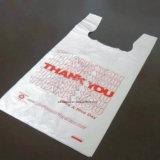 Multi Farben-Plastikweste-Beutel mit Firmenzeichen-Drucken