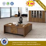 Escritorio de oficina superior de madera del escritorio ejecutivo de la pierna del metal (NS-ND061)