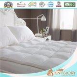 Hotel-weiße synthetische Polyester Microfibre Matratze-Auflage