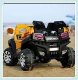 2 Auto's van de Jeep van zetels de Grote met 2.4G Afstandsbediening