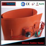Calefator elétrico do cilindro da faixa da resistência do fio da liga niquelar do silicone