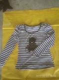 Levering voor doorverkoop aan Kleding van de Ontwerper van de T-shirt van de Koker van de Vrouwen van de Balen van Chicago de Kleine Lange In het groot Gebruikte