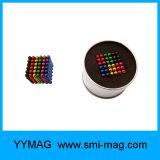 Bille magnétique de néo- sphères de Buckyballs