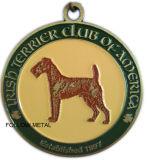 Andenken-Medaille/Medaillon, gebildet vom Legierungs-Material für Schönheits-Tier