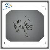 Microchip animais da identificação de RFID com a seringa para 134.2kHz