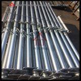 Apoyos de acero ajustables modificados para requisitos particulares del apuntalamiento del andamio de la construcción de edificios